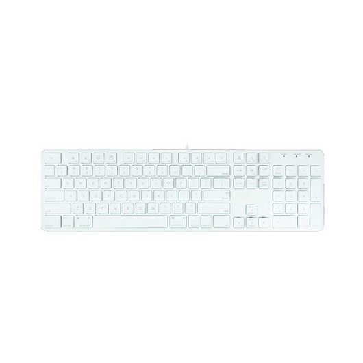 TECLADO APPLE MAC MACALLY SLIMKEYPROA ES PLATA