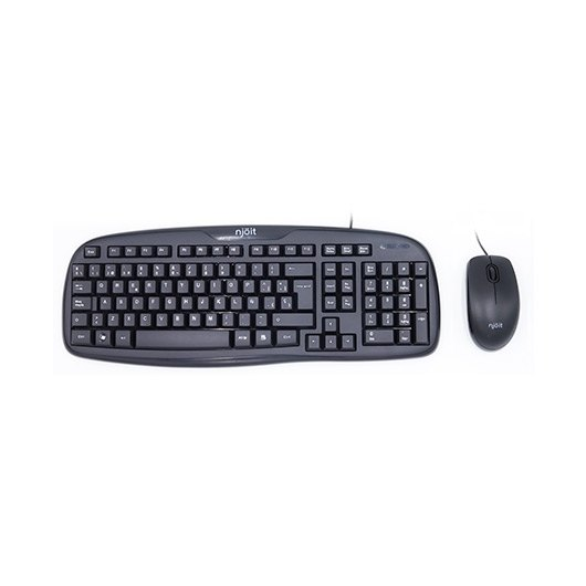 Teclado Raton Njoit Njkeymouse Multimedia Negro Usb Imper