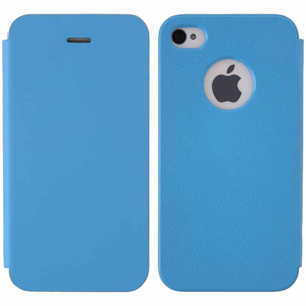 Telef Acc Funda Flip Case Iphone 44s Azul