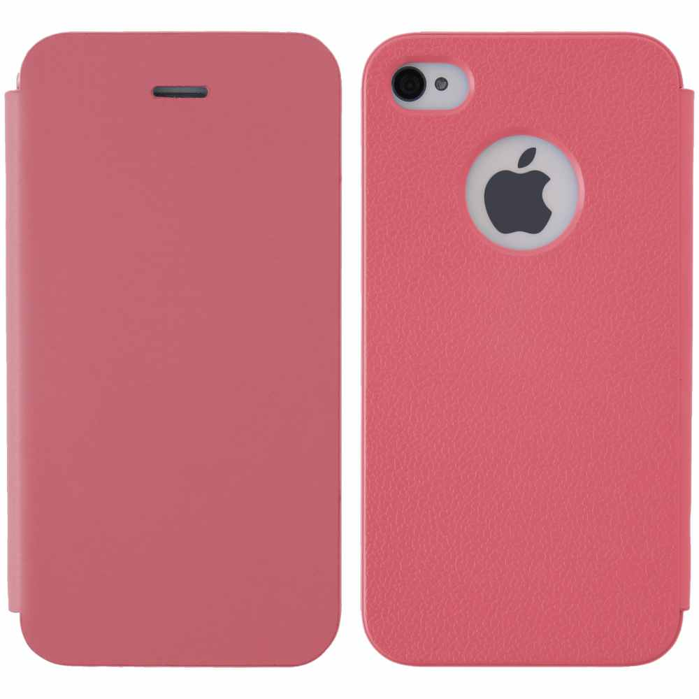 Telef Acc Funda Flip Case Iphone 44s Rosa
