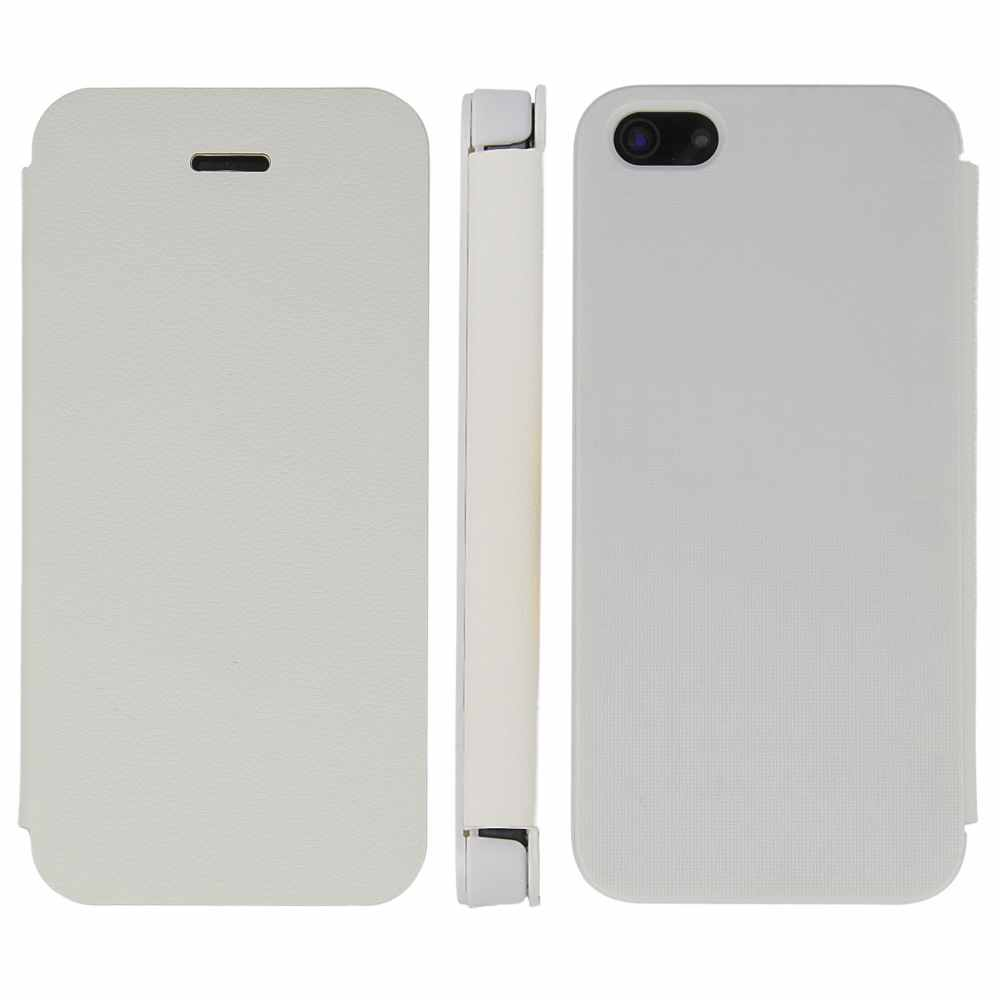Telef Acc Funda Flip Case Iphone 5 Blanca