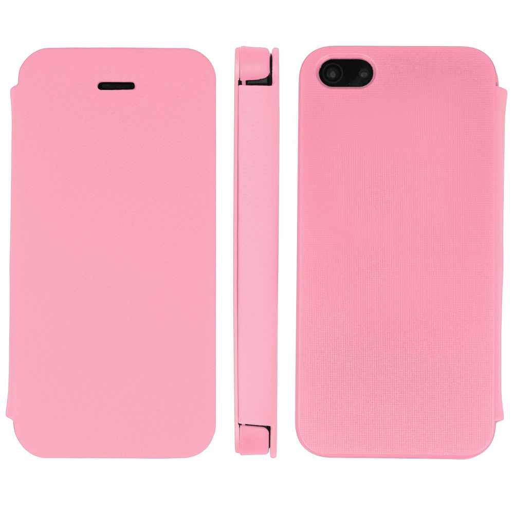 Telef Acc Funda Flip Case Iphone 5 Rosa