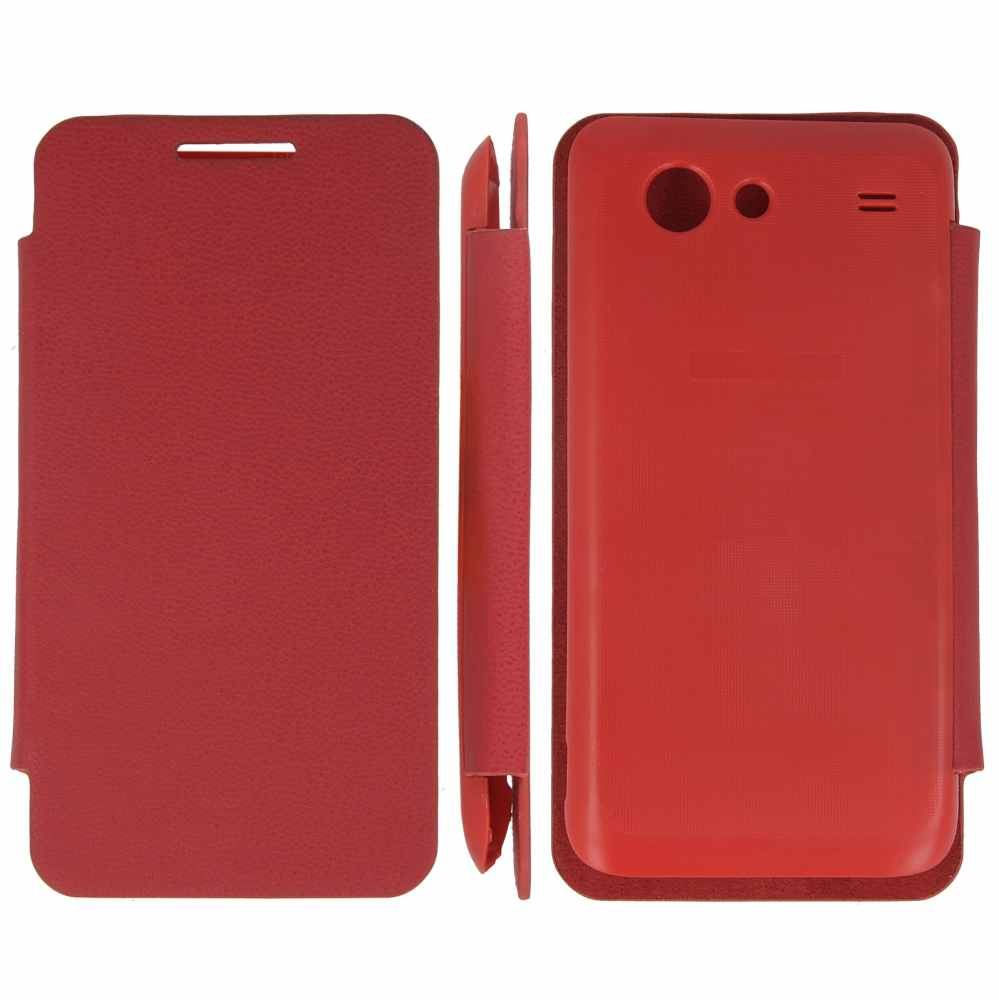 Telef Acc Funda Flip Case Samsung Advanced Roja