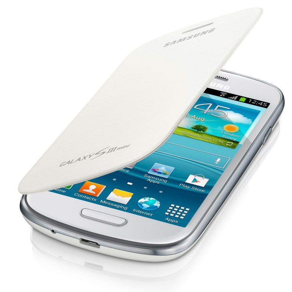 Moviles telef acc funda flipcover galaxy s3 mini blanco - Samsung s3 mini fundas ...