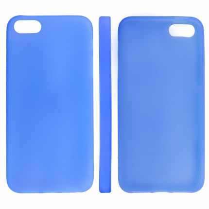 Telef Acc Funda Trasera Case Slim Iphone 5 Azu