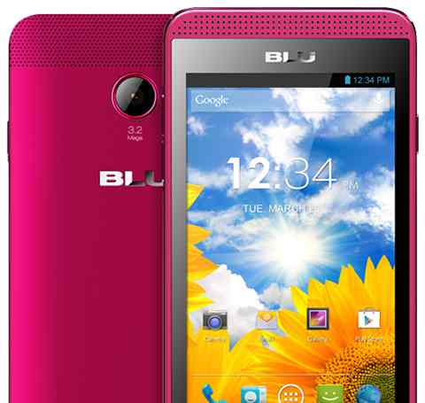 Telef Movil Blu Dash Music 40 D272i 3g Rosa