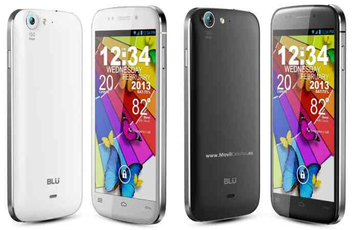 Movil Blu Life One L120 Dual Sim Gris