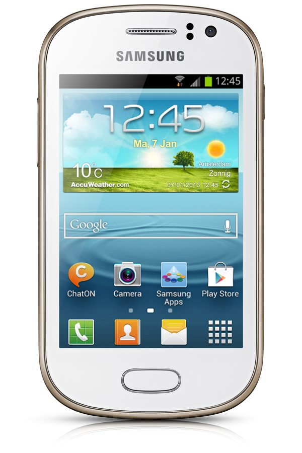 Telefono Movil Samsung Galaxy Fame S6810 Blanco Perl