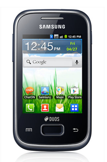 Telefono Movil Samsung Galaxy Pocket Duos S5302 Negr