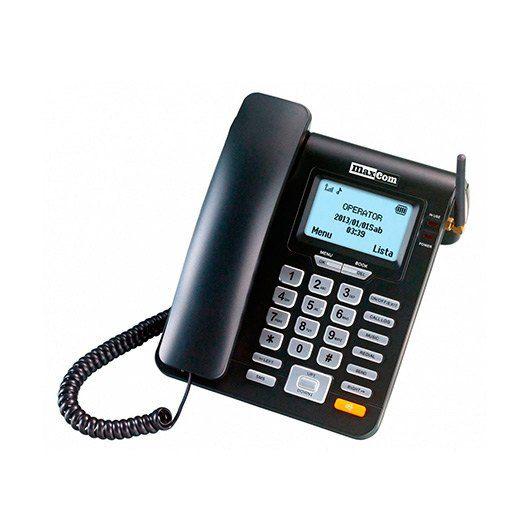 Ver MAXCOM FIXED PHONE MM28D NEGRO