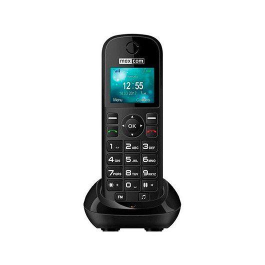 Ver MAXCOM FIXED PHONE MM35D NEGRO