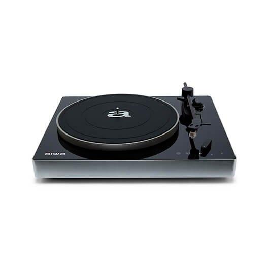 Tocadiscos De Precision Aiwa Apx 680bt Negro 2 Velocidades