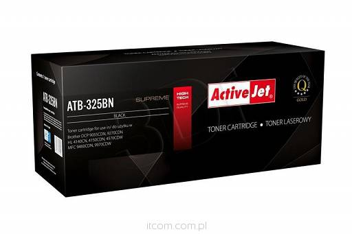 Ver TONER COMPATIBLE BROTHER TN 325BK ACTIVEJET