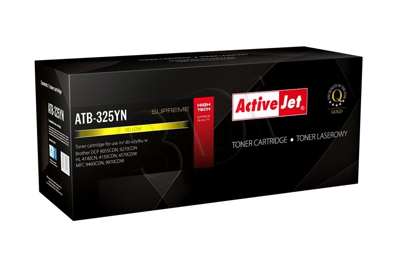 TONER COMPATIBLE BROTHER TN 325Y ACTIVEJET