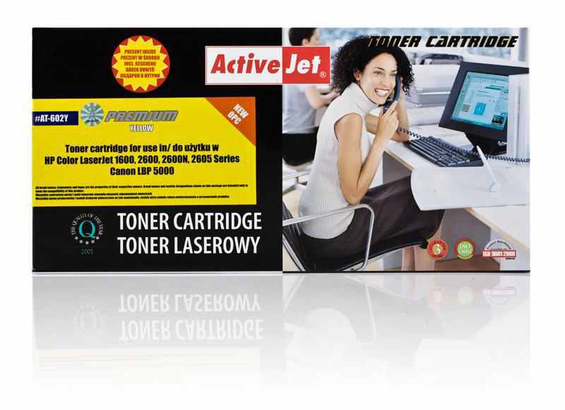 Toner Compatible Hp Q6002a Activejet Yellow