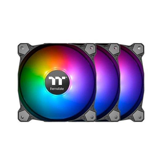 Ventilador 120x120 Thermaltake Pure 12 Argb Tt Pack 3 Uds