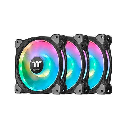 Ventilador 120x120 Thermaltake Riing Duo 12 Rgb Tt 3 Uds