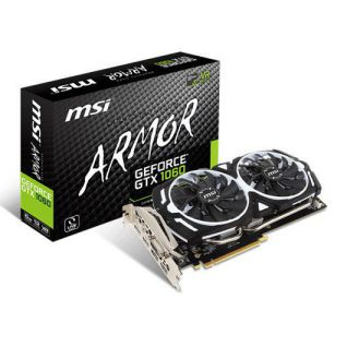 MSI GTX 1060 ARMOR V1 6GB GDDR5