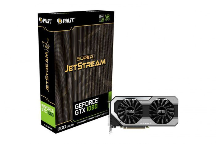 Ver PALIT GTX 1060 SUPER JETSTREAM 6GB GDDR5