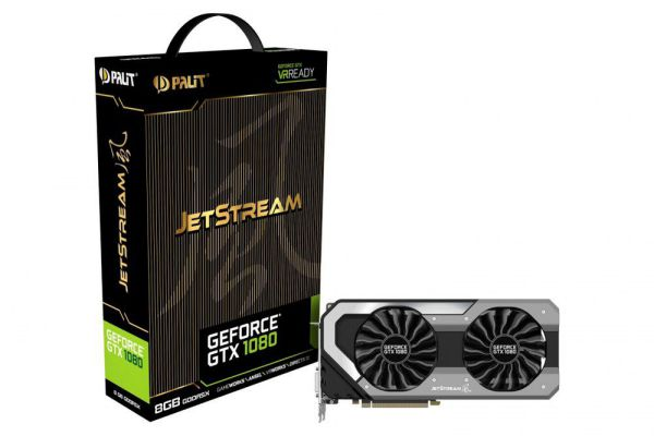 Ver PALIT GTX 1080 JETSTREAM 8GB GDDR5X