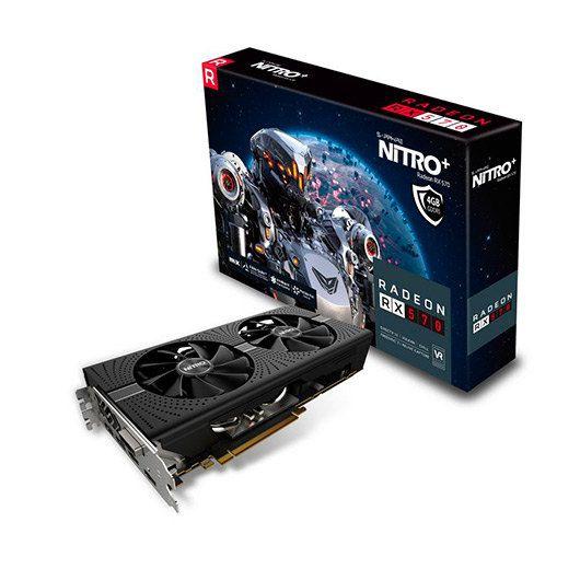 SAPPHIRE RX 570 NITRO 4GB GDDR5
