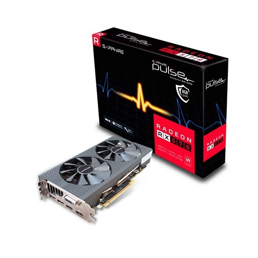 SAPPHIRE RX 570 PULSE BACKPLATE 8GB GDDR5
