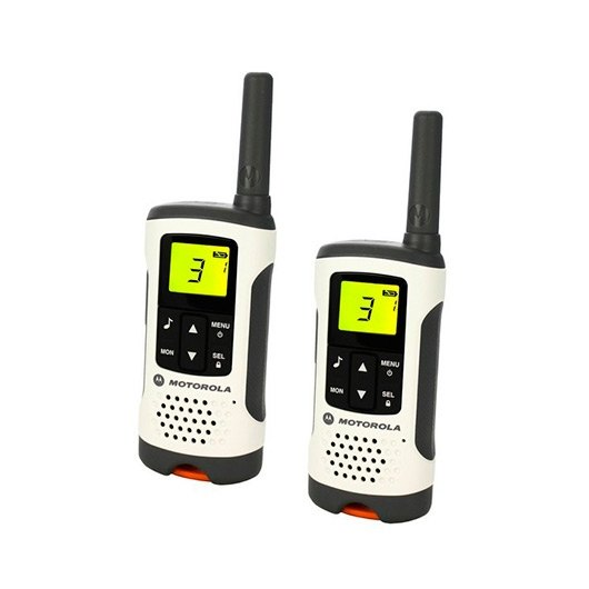 Ver WALKIE TALKIE MOTOROLA TLKR T50 BLANCO GRIS PACKS2