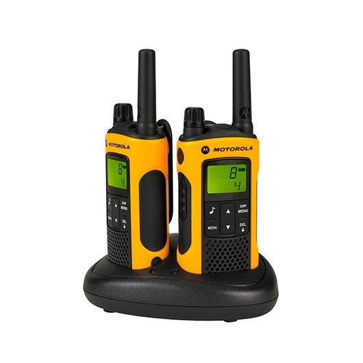 Ver WALKIE TALKIE MOTOROLA TLKR T80EX AMARILLO PACKS 2