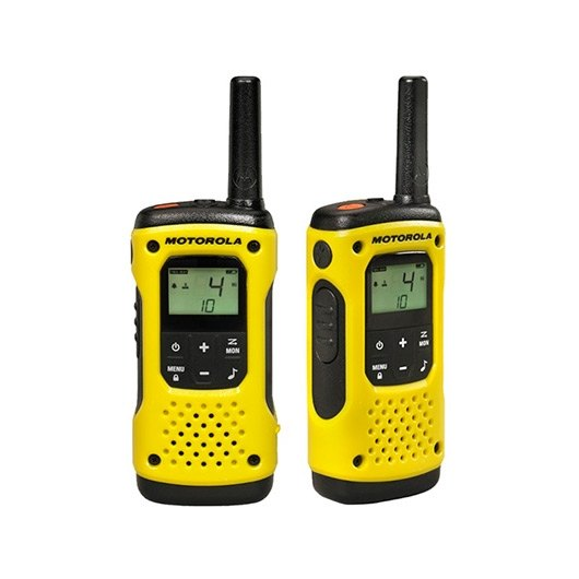 Ver WALKIE TALKIE MOTOROLA TLKR T92H2O AMARILLO PACKS2