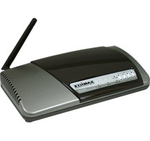 Ver WIRELESS ROUTER 54M EDIMAX BR-6304WG HUB4P
