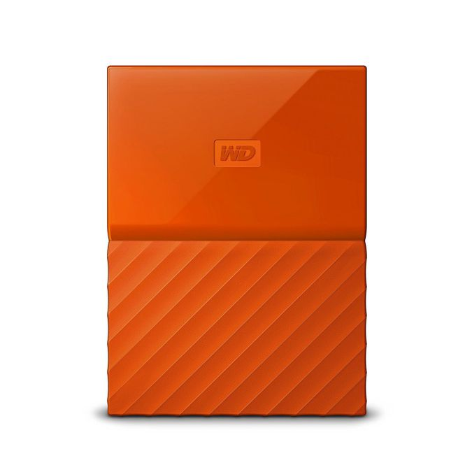 Ver Western Digital My Passport 2000GB Naranja