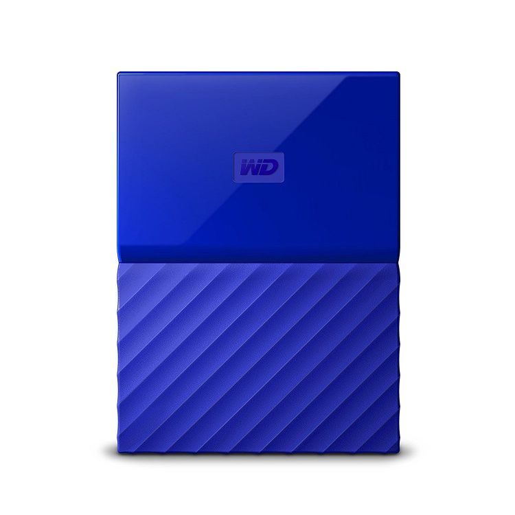 Ver Western Digital My Passport 2000GB Azul