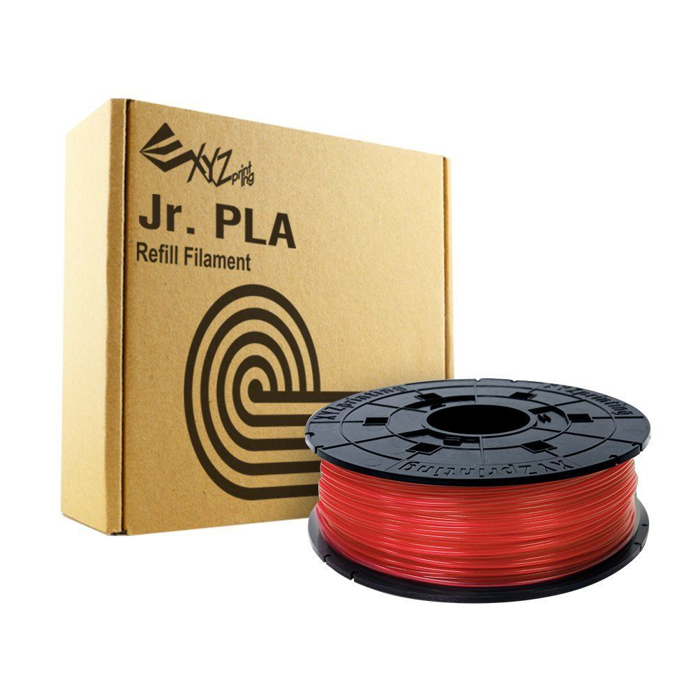 600gr Rojo PLA Filament Cartridge XYZprinting