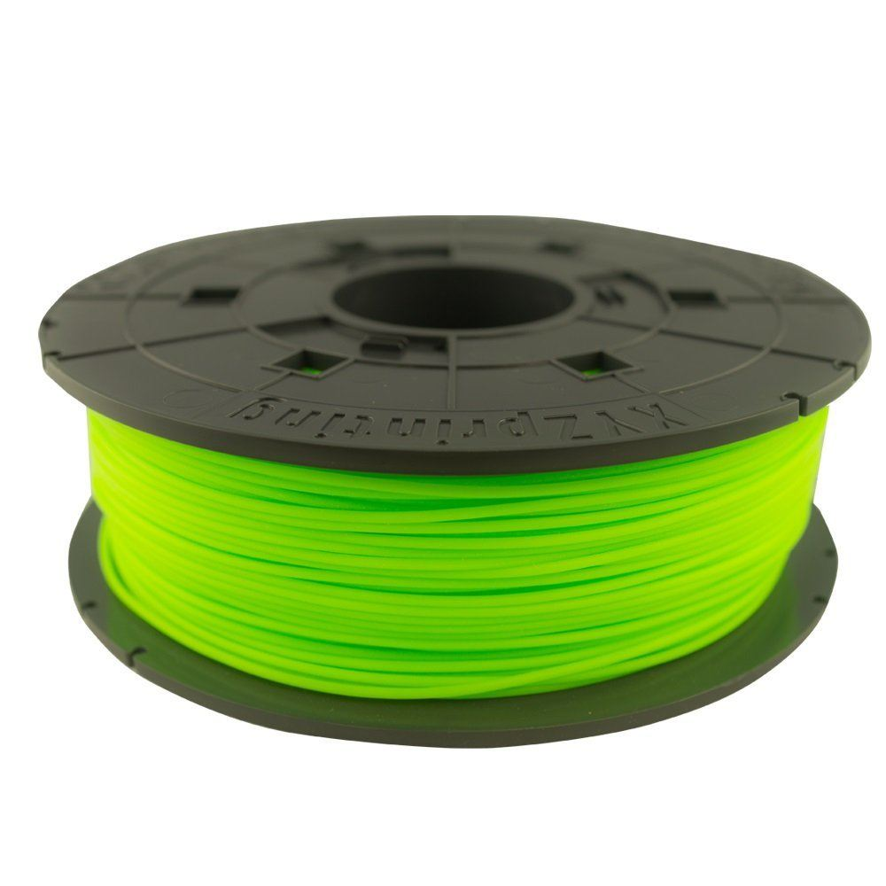 600gr Verde PLA Filament Cartridge XYZprinting