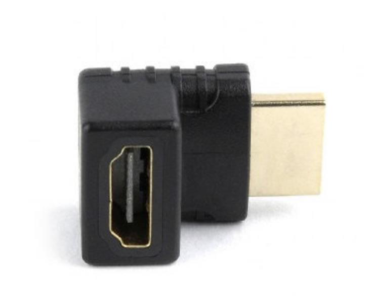ADAPTADOR GEMBIRD HDMI HEMBRA A HDMI MACHO 270 ANGULO IZQUIERDO