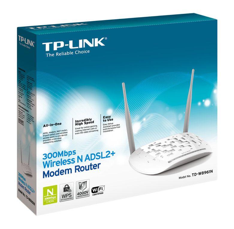 Ver ADSL TP LINK TD W8961N