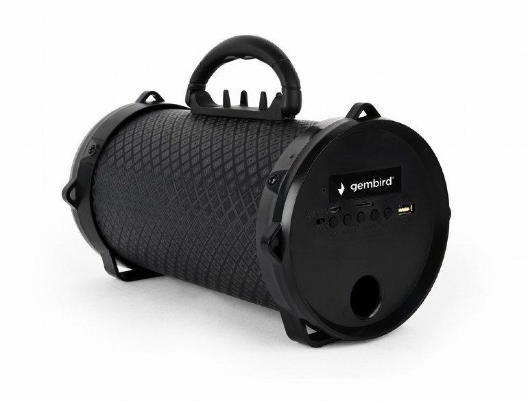Altavoz Gembird 5w Bluetooth Con Luz Led  Funcion Equalizador Negro