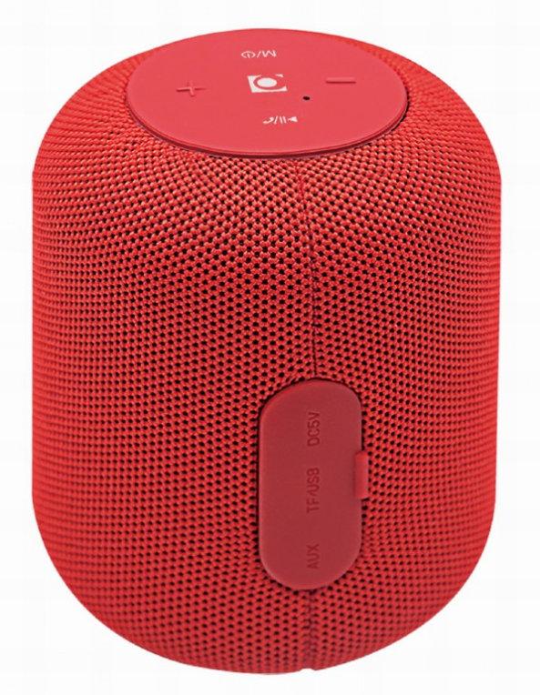 Altavoz Gembird 5w Bluetooth Con Micro Rojo