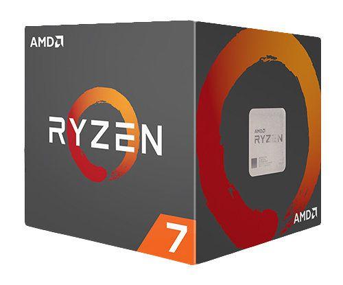 AMD Ryzen 7 1800x 3 6GHz Caja