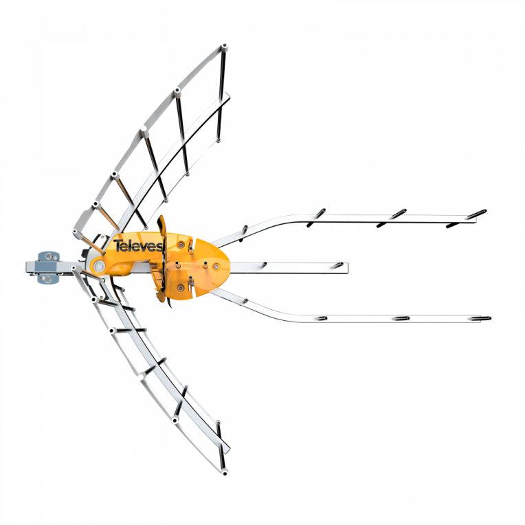 ANTENA TELEVES ELLIPSE UHF C21  48  ALIMENTADOR