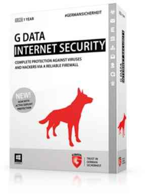Antivirus G Data Internet Security 2015 3pc