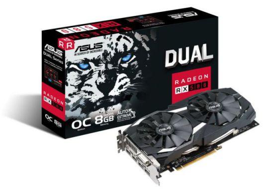 ASUS DUAL RX580 8GB GDDR5