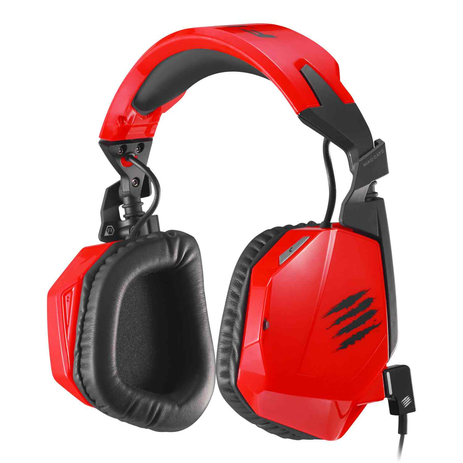 Auriculares Pc Mcz Freq3 Red