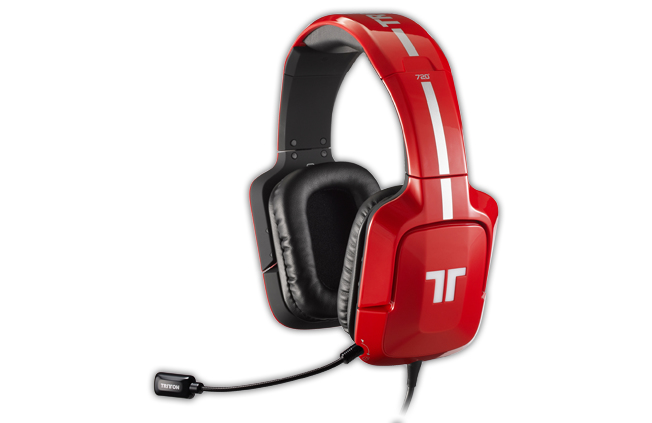 Auriculares Tritton Ax 720 71 Rojo Pc