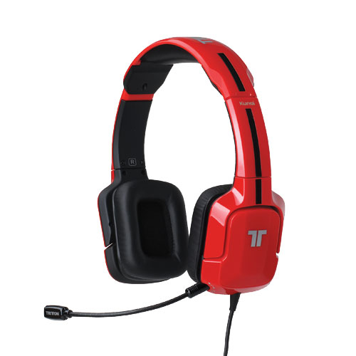 Ver AURICULARES TRITTON KUNAI RED STEREO PS3