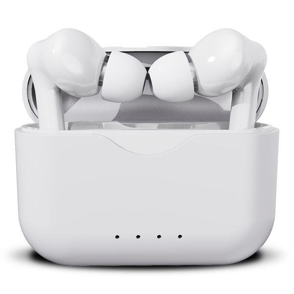 Auriculares Denver Twe 37 Bluetooth V50 Estuche De Carga Blanco
