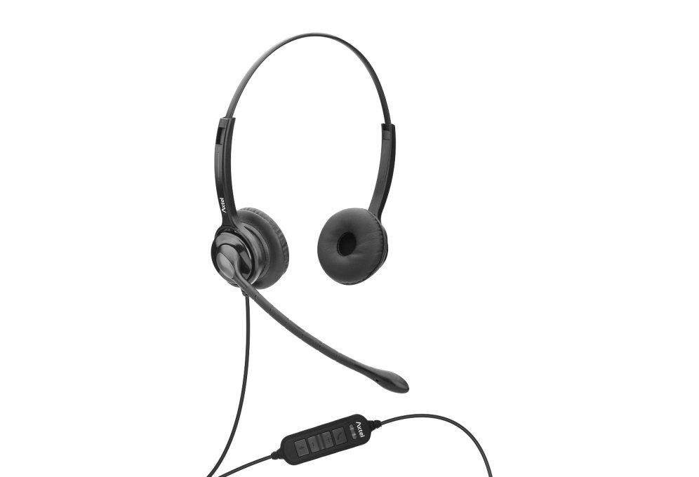 Auriculares Unificados Axtel Axh Ms2d Duo Nc Usb Conex Usb Compa Tel Softphon