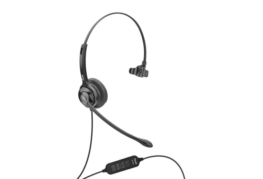 Auriculares Unificados Axtel Axh Ms2m Mono Nc Usb Conex Usb Compa Tel Softphon