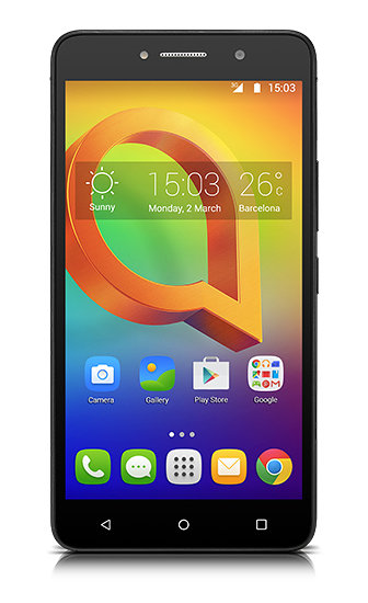 Ver Alcatel A2 XL SIM doble 8GB Negro