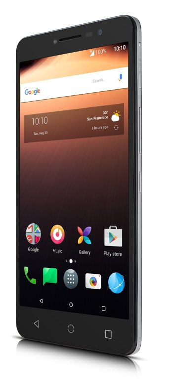Ver Alcatel A3 XL SIM doble 4G 8GB Negro Gris